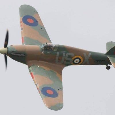Hawker Hurricane II Plan MA166