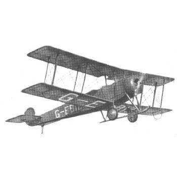 Avro 504K Plan FSP343