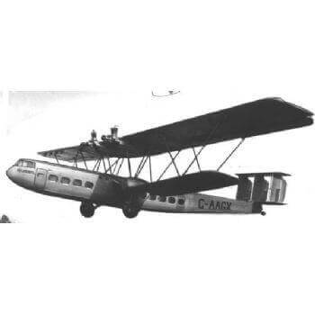 Handley Page HP42 Hannibal Plan FSP615