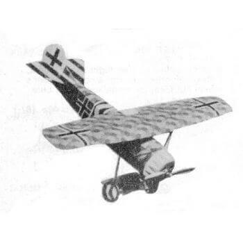 Fokker D8 Plan MA353