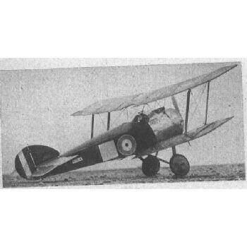 Sopwith Camel Plan FSP441