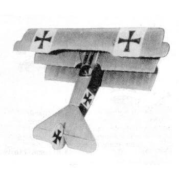 Fokker Triplane Plan FSP453