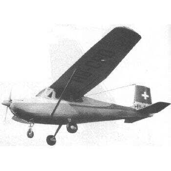 Cessna Bird Dog Plan FSP568