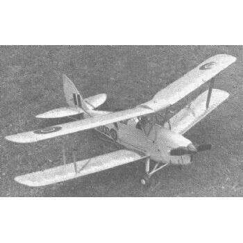 De Havilland Tiger Moth Plan FSP555