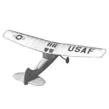 Cessna Bird Dog Plan MAG68