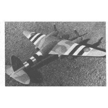 De Havilland Mosquito Plan CL570