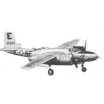 Douglas A26A Invader Plan CL520