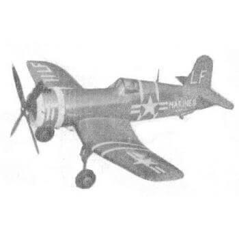 VF4-2 Corsair Plan MA141
