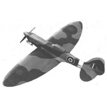 Supermarine Spitfire Mk XII Plan AM1688