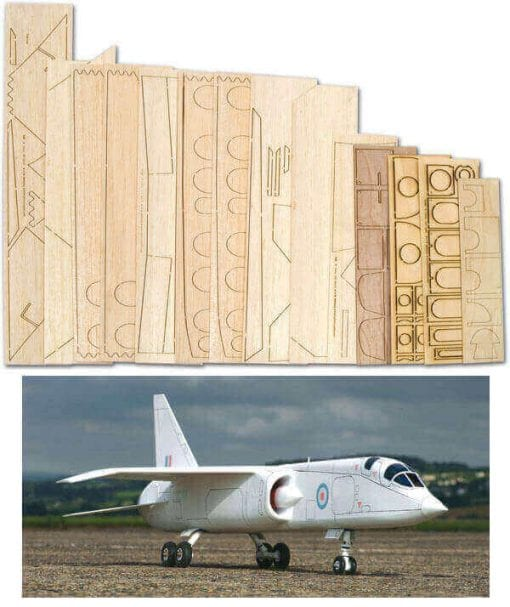 TSR-2 - SET  FOAM/WOODPACK AND PLAN