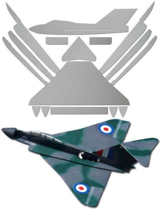 Gloster Javelin - Laser Cut Depron Pack