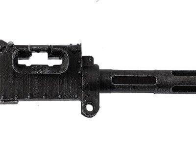 Vickers Machine Gun (Fluted Barrel) - Scale 1:6