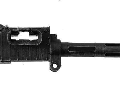 Vickers Machine Gun (Fluted Barrel) - Scale 1:5