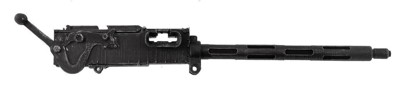 Vickers Machine Gun (Fluted Barrel) - Scale 1:4