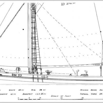 Ibex (Brixham Trawler) - By David Alderton (PLAN)