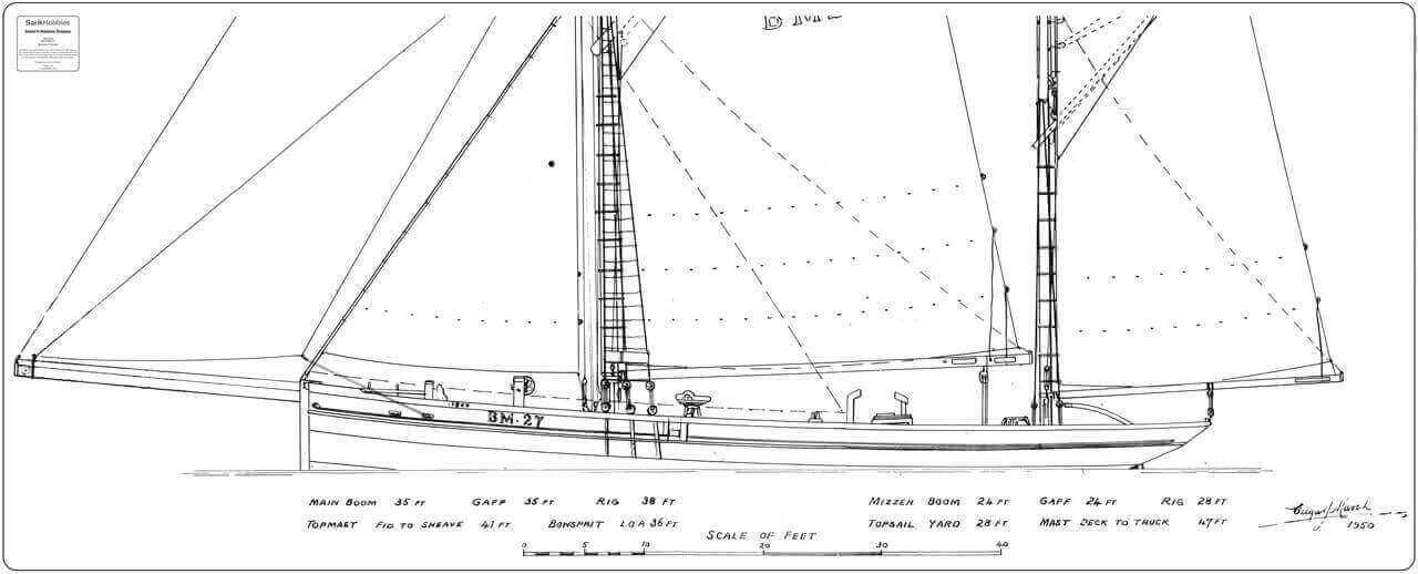 Ibex (Brixham Trawler) - By David Alderton (PLAN)