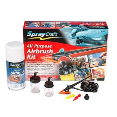 Multi-Tip All Purpose Airbrush Kit