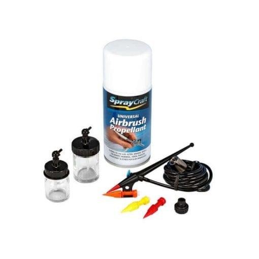 Multi-Tip All Purpose Airbrush Kit