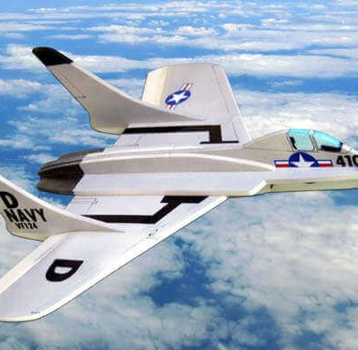 F7U-3 Cutlass Plan