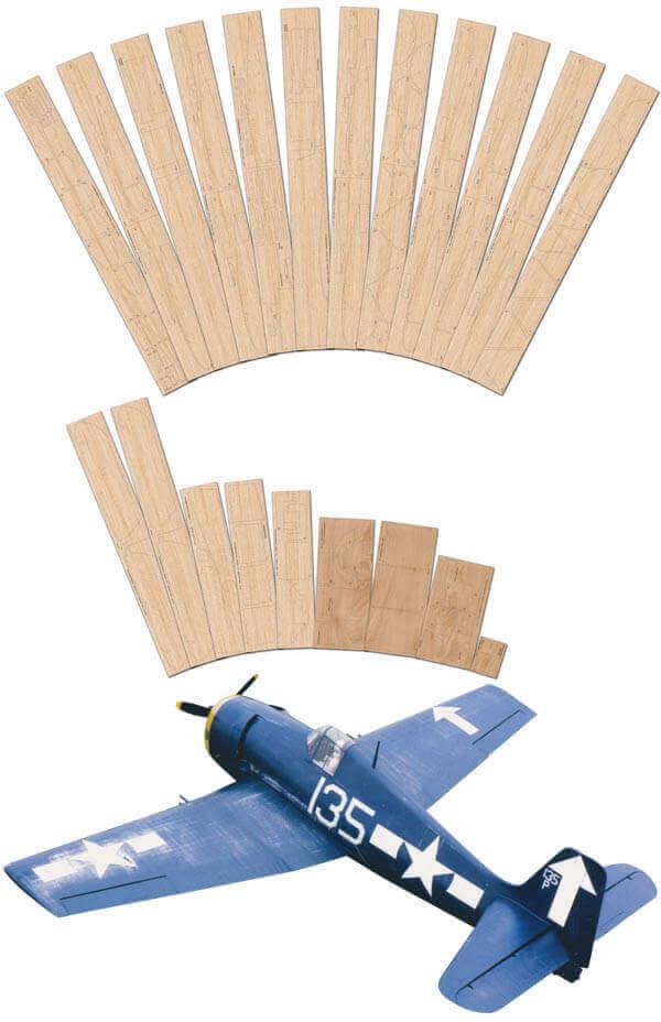 """Grumman F6F-5 Hellcat (64.25"""") - Full Set"""