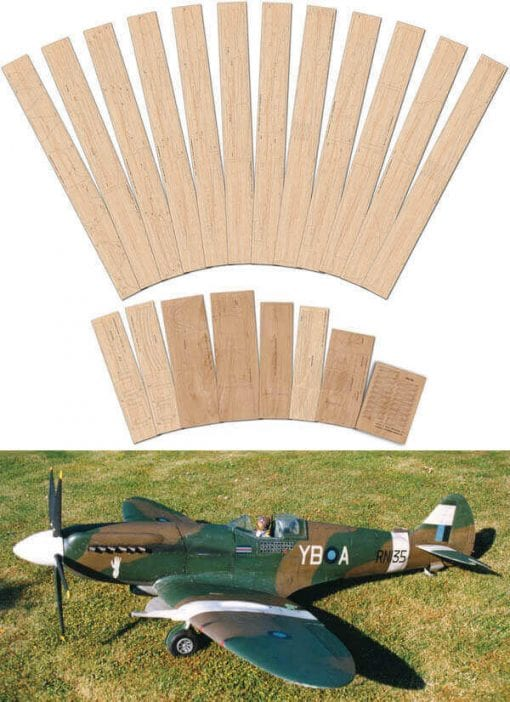 "Supermarine Spitfire Mk.XIV & XIX (69"") - Full Set"