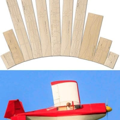 VAWS-RV8 Laser Cut Wood Pack