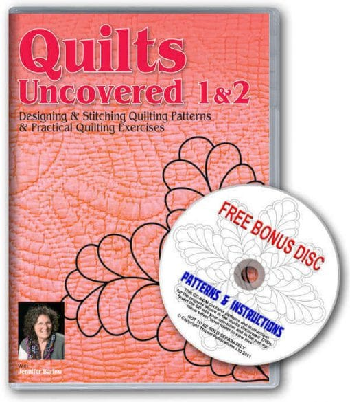 Quilts Uncovered 1 and 2 Boxset DVD