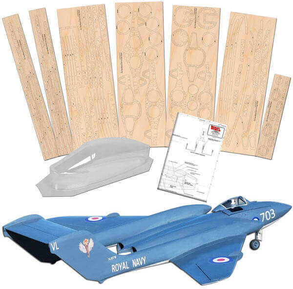 DH110 Sea Vixen - Set