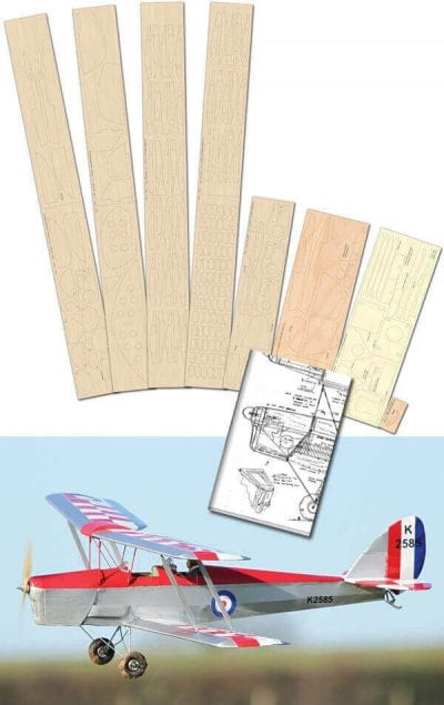 DH Tiger moth - Set