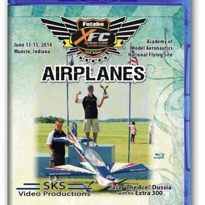 XFC 2014 Airplanes Blu-Ray