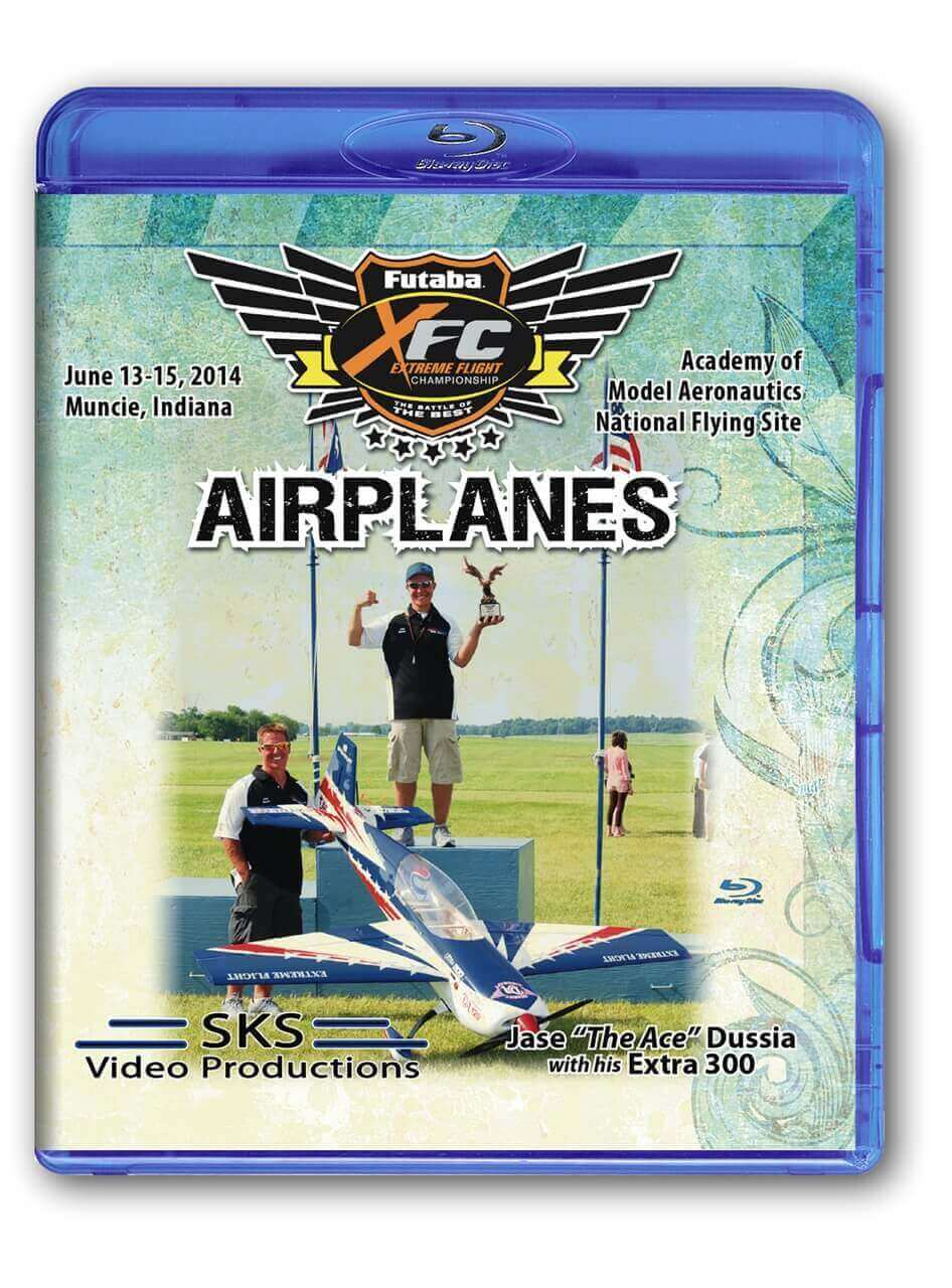 XFC 2014 Airplanes Blu-Ray