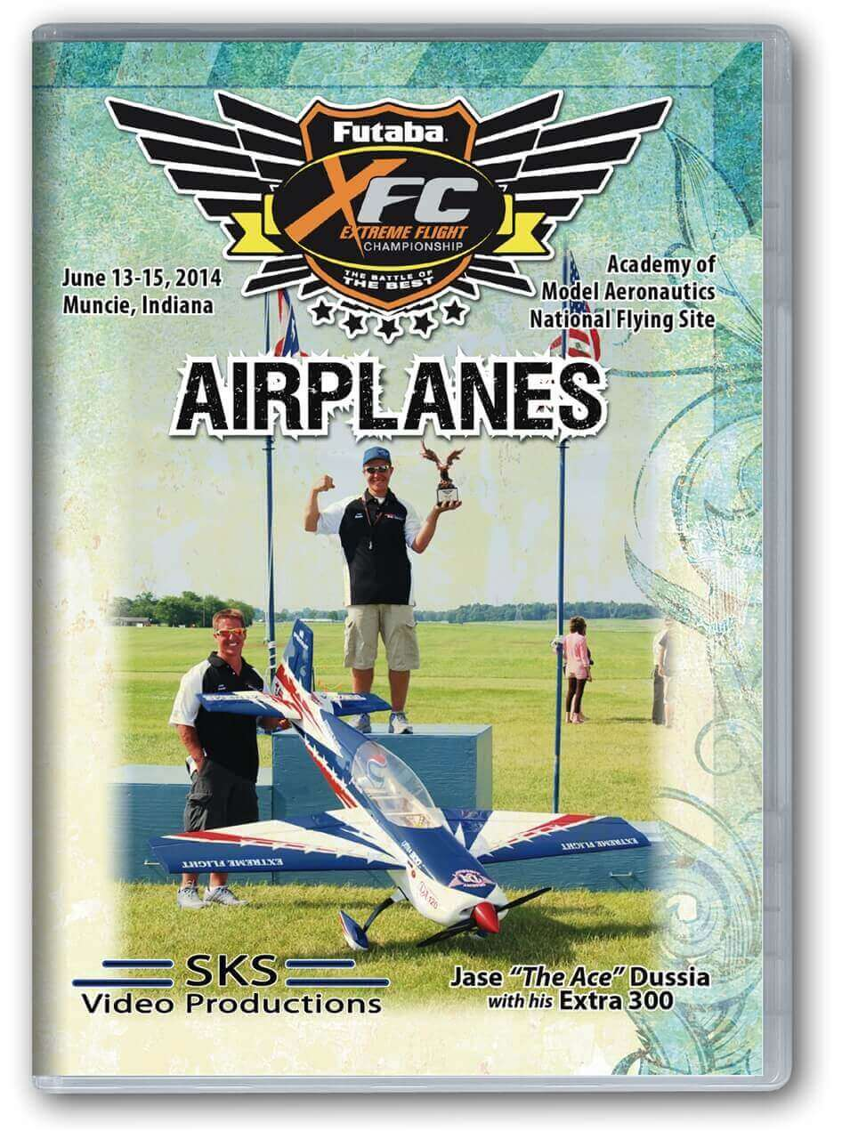 XFC 2014 Airplanes DVD