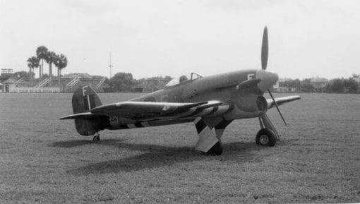 Hawker Typhoon 1B