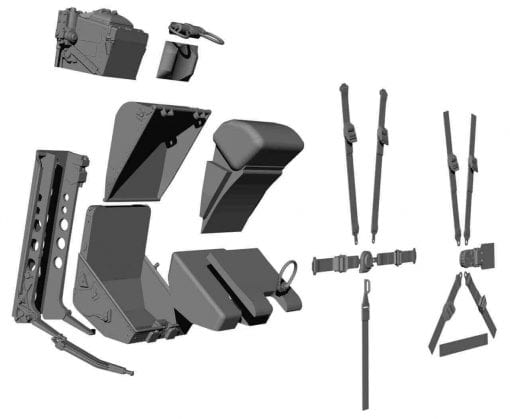 Mk3H Ejection Seat (1:6 Scale)