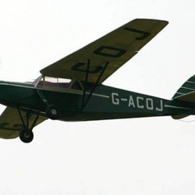 DH85A Leopard Moth