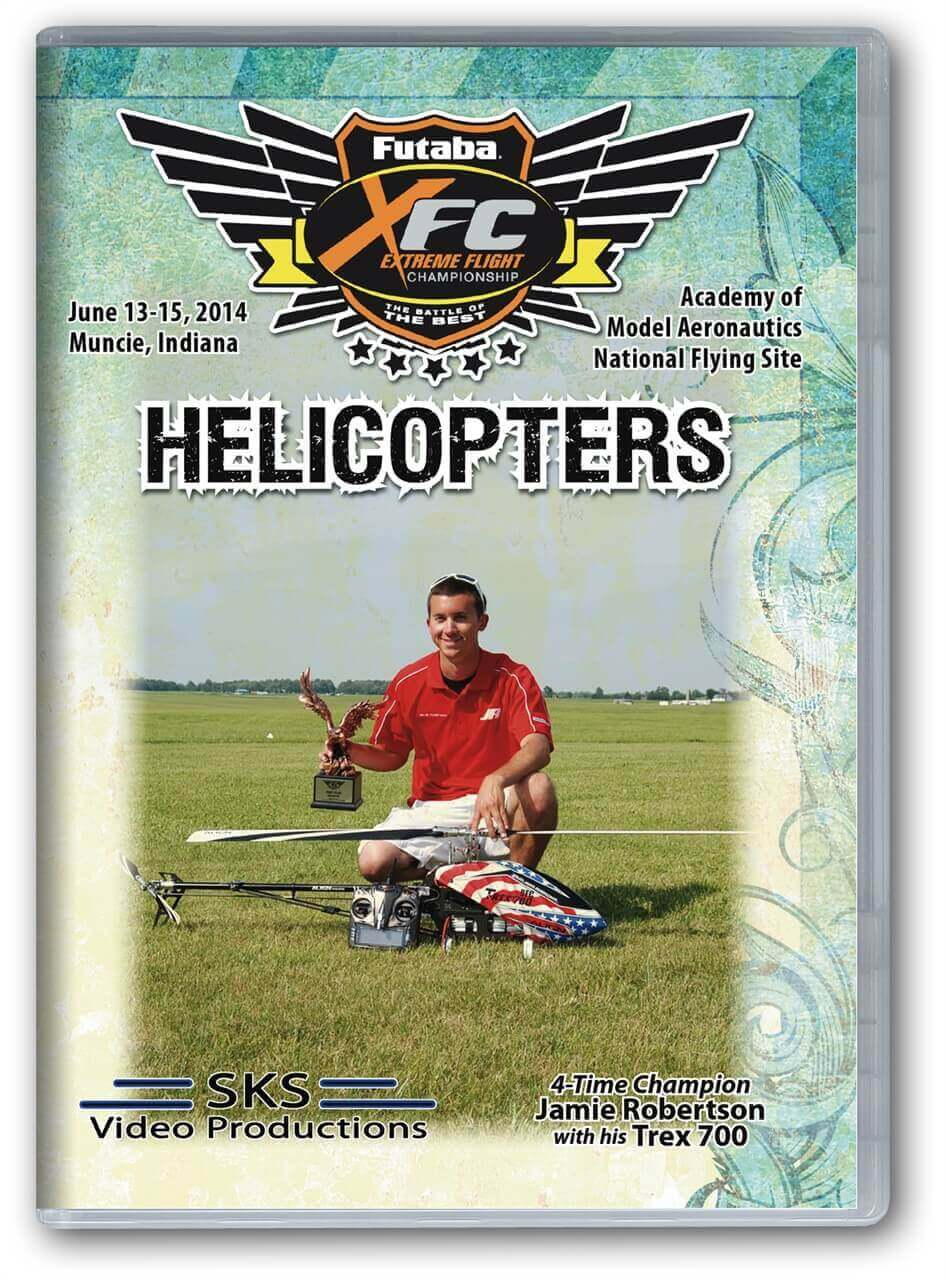 XFC 2014 Helicopters DVD