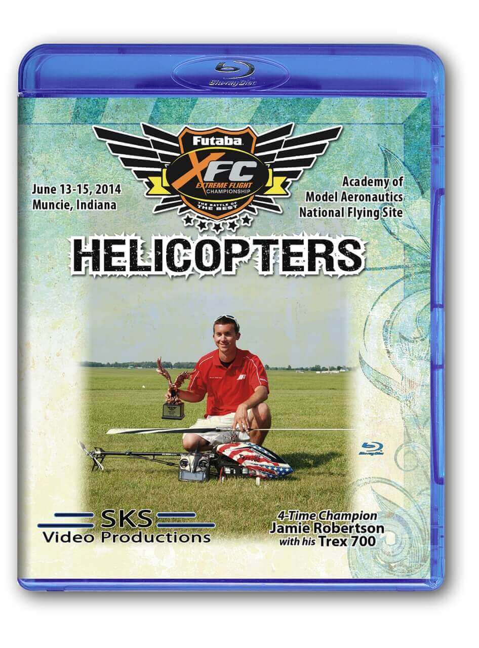 XFC 2014 Helicopters Blu-Ray