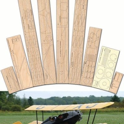 """Pitcairn PA-7S Sport Mailwing (40"""") - Laser Cut Wood Pack"""