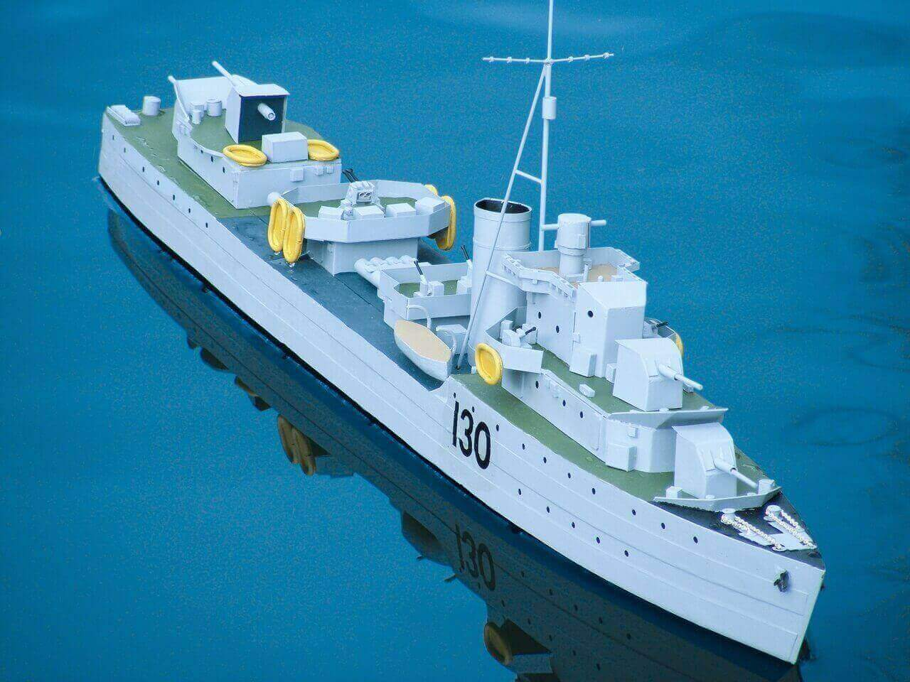 MM2094 HMS Temerity Plan & Hull Woodpack