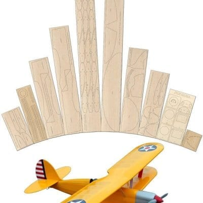 Mini Super Barnstormer - Laser Cut Wood Pack