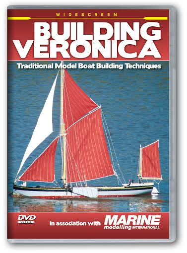 Building Veronica - Traditional Model Boat Building Techniques - DVD