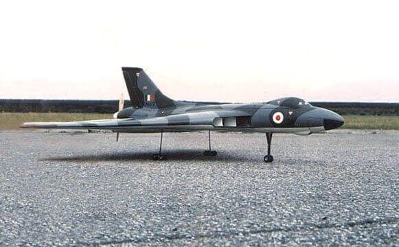 """Avro Vulcan B2 (60"""") Plan"""
