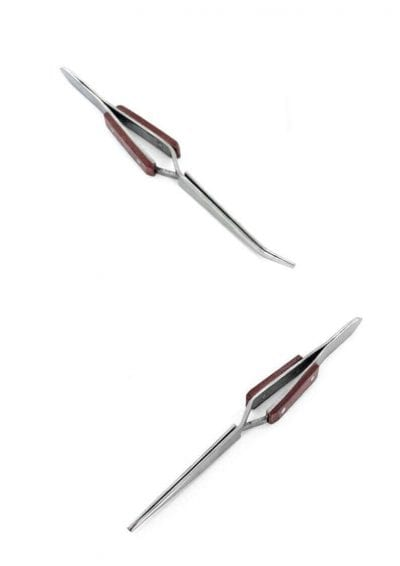 Reverse Action Fibre Grip Tweezers