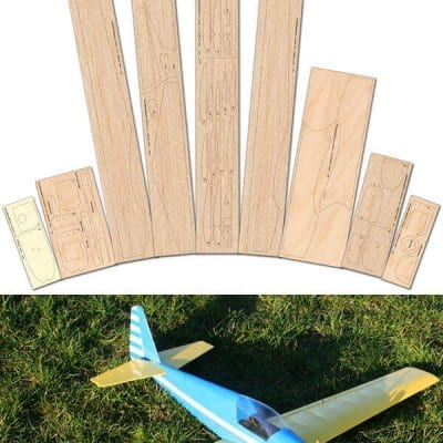Fournier RF-7 Laser Cut Wood Pack