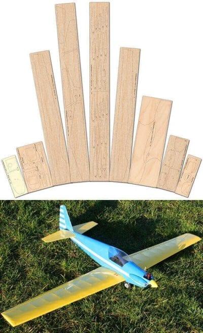 Fournier RF-7 Laser Cut Wood Pack
