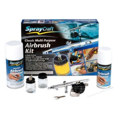 Classic Multi Purpose Airbrush Kit (Dual Action)