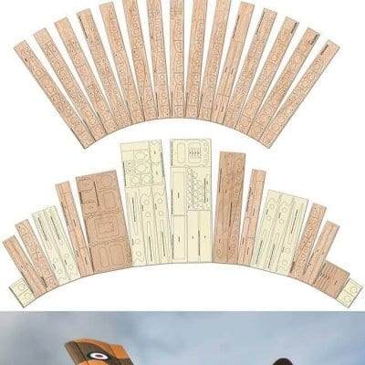 Scottish Aviation Twin Pioneer CC.Mk2 - Laser Cut Wood Pack
