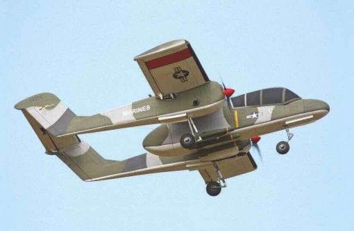 RC2132 OV-10 Bronco Plan