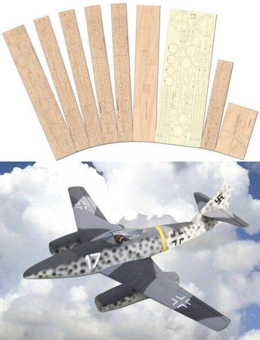 Messerschmitt Me 262 - Laser Cut Wood Pack