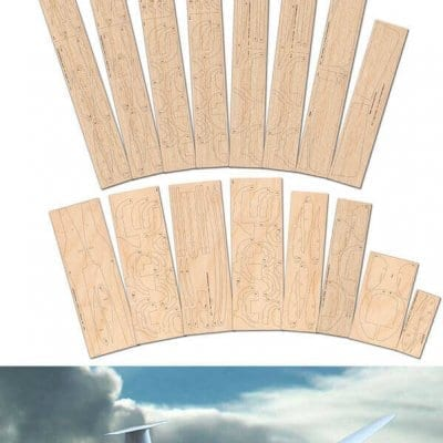 Schempp-Hirth Standard Cirrus - Laser Cut Wood Pack